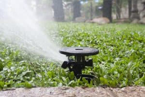 impact sprinkler for low pressure